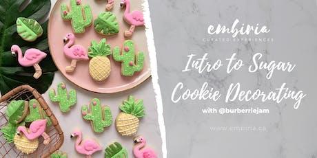 Embiria presents Intro to Sugar Cookie Decorating tickets