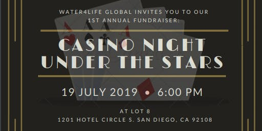 Casino Night Under the Stars Fundraiser!