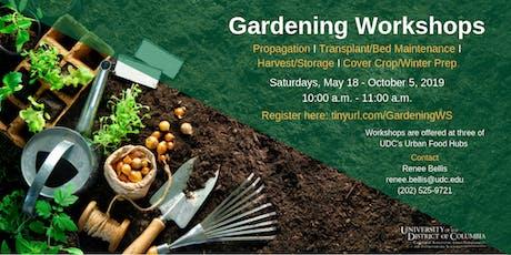 Gardening Workshops tickets