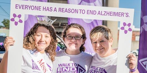 2019 Hannibal Area Walk to End Alzheimer's