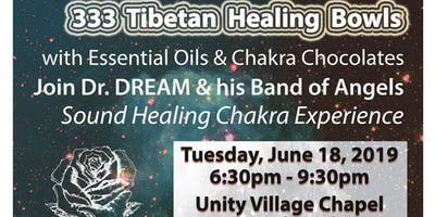 333 Tibetan Healing Bowls,Essential Oil & Chocolate Experience, Sound Healing, Unity Village Center
