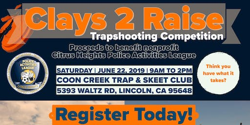 Clays 2 Raise Trapshooting Competition