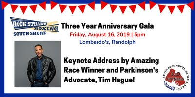 Rock Steady Boxing South Shore Three Year Anniversary Gala