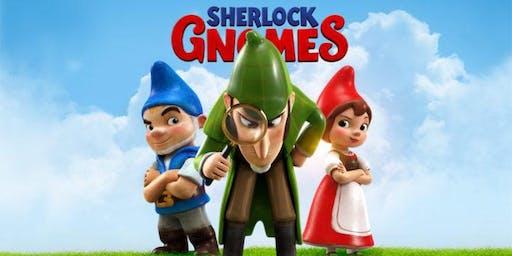 Beach Movie Nights (FREE): Sherlock Gnomes