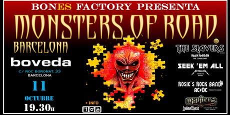MONSTERS OF ROAD BARCELONA entradas