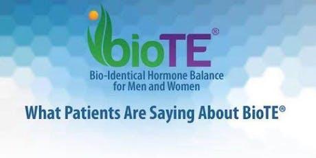 Bio-Identical Hormone Replacement FREE Seminar tickets