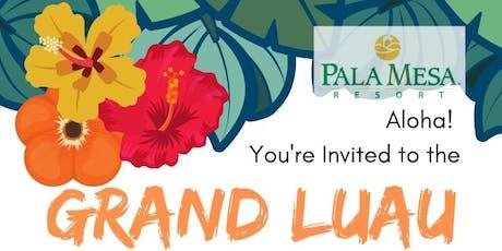 Pala Mesa Grand Luau tickets