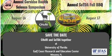 CHeRI Science Symposium and SeTDA Fall BBQ - Free for Deer Farmers! tickets
