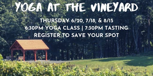 Unwined: Yoga at the Vineyard