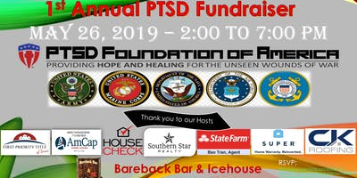 PTSD 1st Annual Fundraiser - Benefiting PTSD Foundation of America