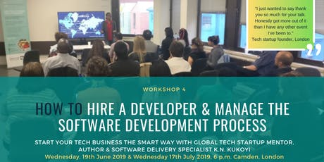 How to Hire a Developer & Manage the Software Development Process tickets