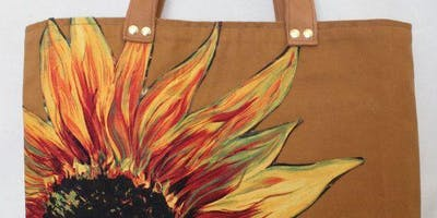 Paint & Drink: Canvas Tote Bags!