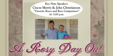 Christianson's Nursery 16th Annual Rose Festival, 'A Rosy Day Out' tickets