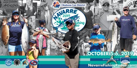 2019 Okaloosa Gas Navarre Fishing Rodeo tickets
