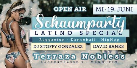 Schaumparty OPEN AIR Special - Terraza Nobless Tickets