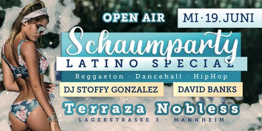 Schaumparty OPEN AIR Special - Terraza Nobless