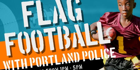 Flag Football Game with Portland Police tickets