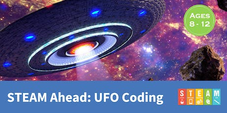STEAM Ahead: UFO Coding tickets