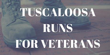 4th Annual Tuscaloosa Runs for Veterans Run/Walk 5K  tickets