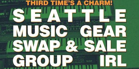 Seattle Music Gear Swap & Sale tickets