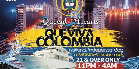 COLOMBIAN INDEPENDENCE DAY :: MIDNIGHT BOAT PARTY :: BOAT KINGZ tickets