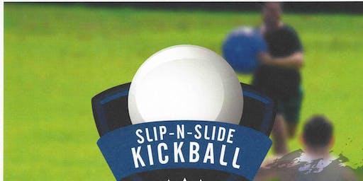 Quantico Single Marine Program(SMP) Slip -N- Slide Kickball