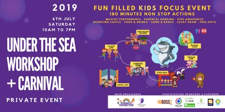 Under The Sea Workshop + Carnival for Parents & Kids tickets
