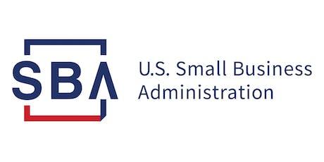SBA Lender Match Webinar tickets
