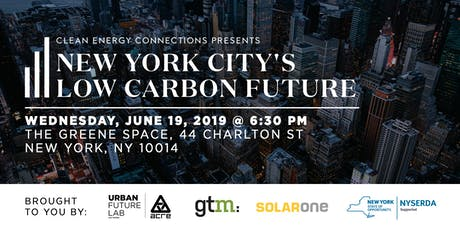 Clean Energy Connections: NYC's Low Carbon Future tickets
