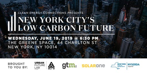 Clean Energy Connections: NYC's Low Carbon Future