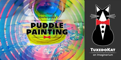 Easy Peasy Masterpeasy: Puddle Painting