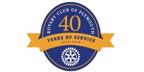 Plymouth Rotary Club 40th Anniversary!