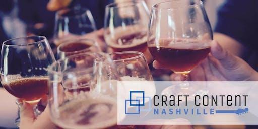 Craft Content Nashville: July 2019 Happy Hour
