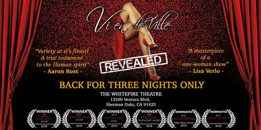 """""""Vixen DeVille Revealed"""" at the Whitefire Theatre"""