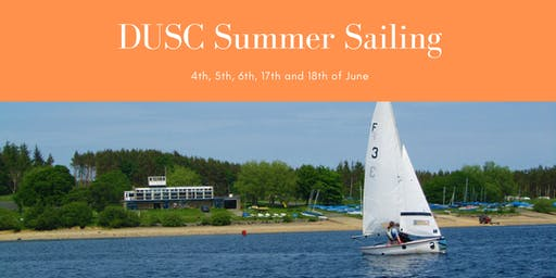 DUSC Summer Sailing 2019