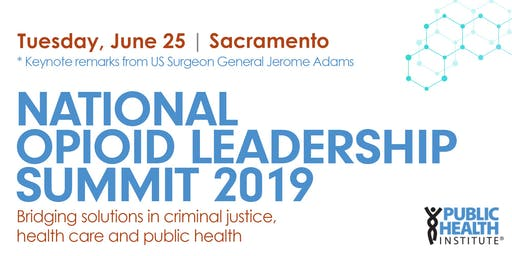National Opioid Leadership Summit 2019
