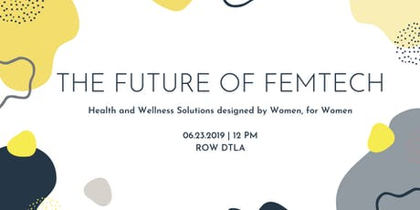 TALK: The Future of Femtech x Grid110 tickets