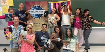 No Ka Oi Toastmasters Meeting