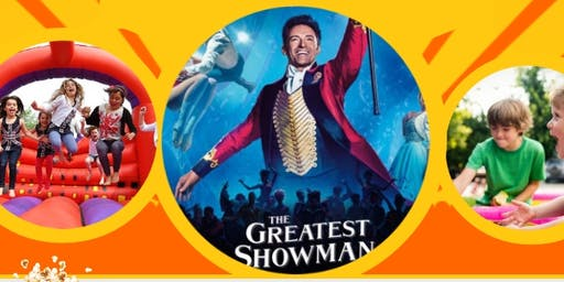 FAMILY FUN DAY, BBQ & OUTDOOR MOVIE - GREATEST SHOWMAN - MOIRA FURNACE
