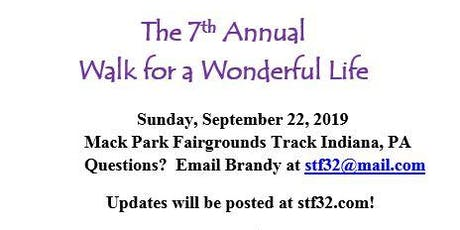 7th Annual Walk for a Wonderful Life-Agency Table Sign Up tickets
