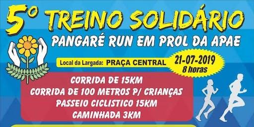 5° Treino Solidário Pangaré Run