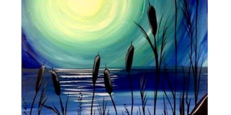 'Moonlight' Sip & Paint Workshop tickets