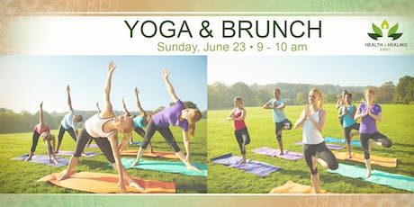 Yoga + Brunch at the Health & Healing Expo tickets
