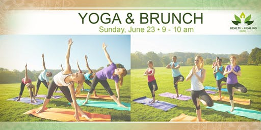 Yoga + Brunch at the Health & Healing Expo
