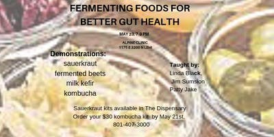 Fermenting Foods for Better Gut Health