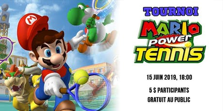 Mario Power Tennis billets