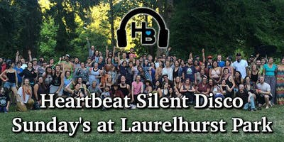 Heartbeat Silent Disco - Laurelhurst Park - 5/26 6-9pm