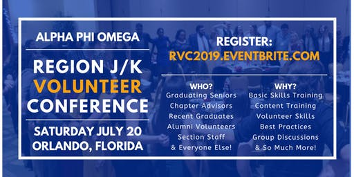 Region Volunteer Conference 2019 | Alpha Phi Omega Regions J/K