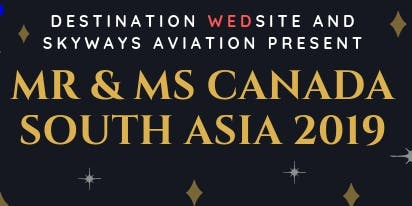 MMCSA (Mr & Ms Canada South Asia) SEASON 2