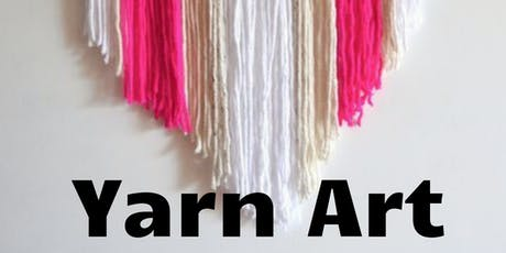 Yarn Wall Art  (Adult Art Class)  tickets